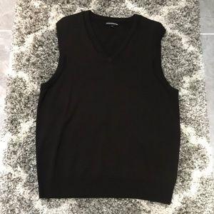 Express Black Sweater Vest